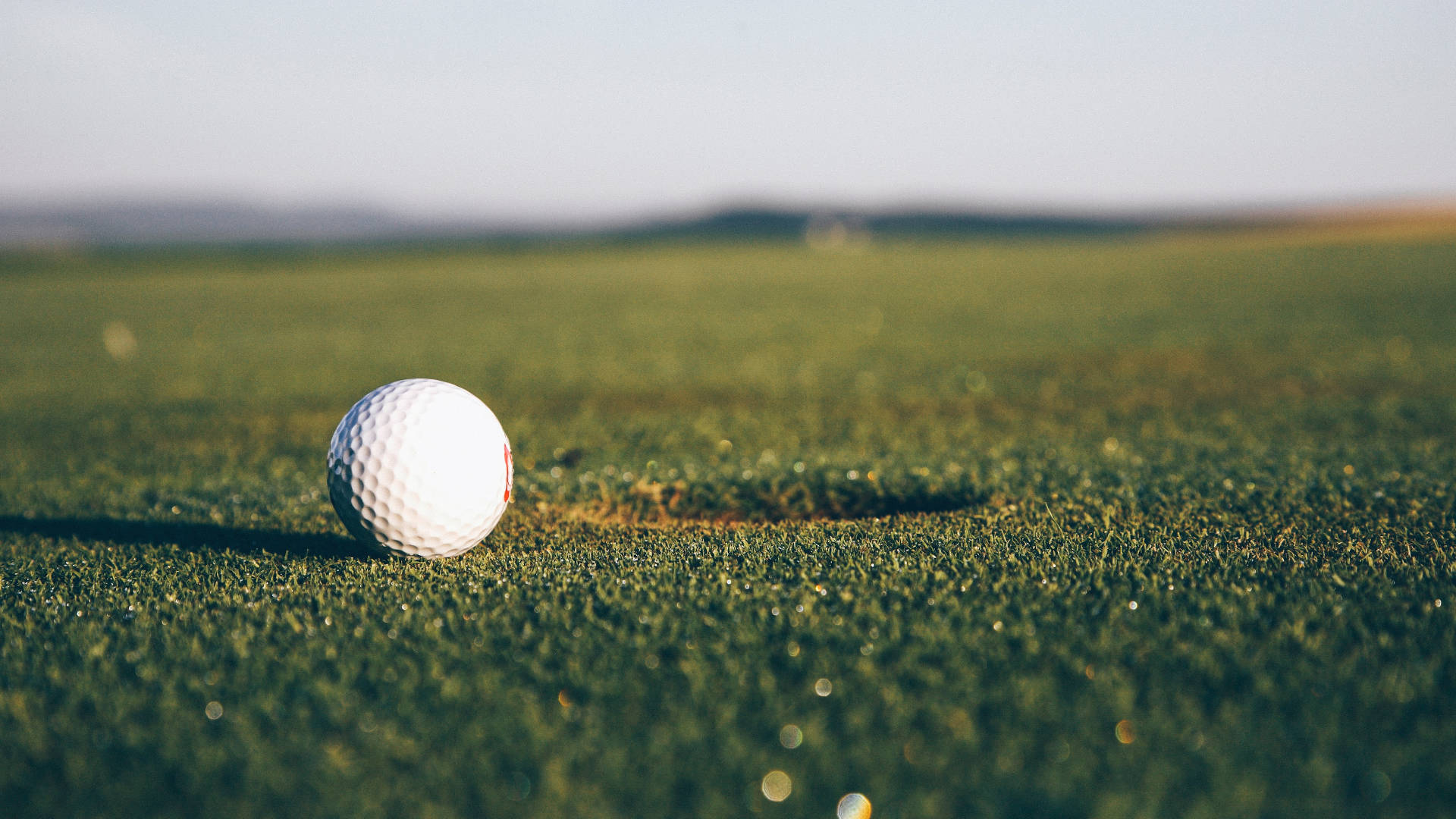 golf ball loch