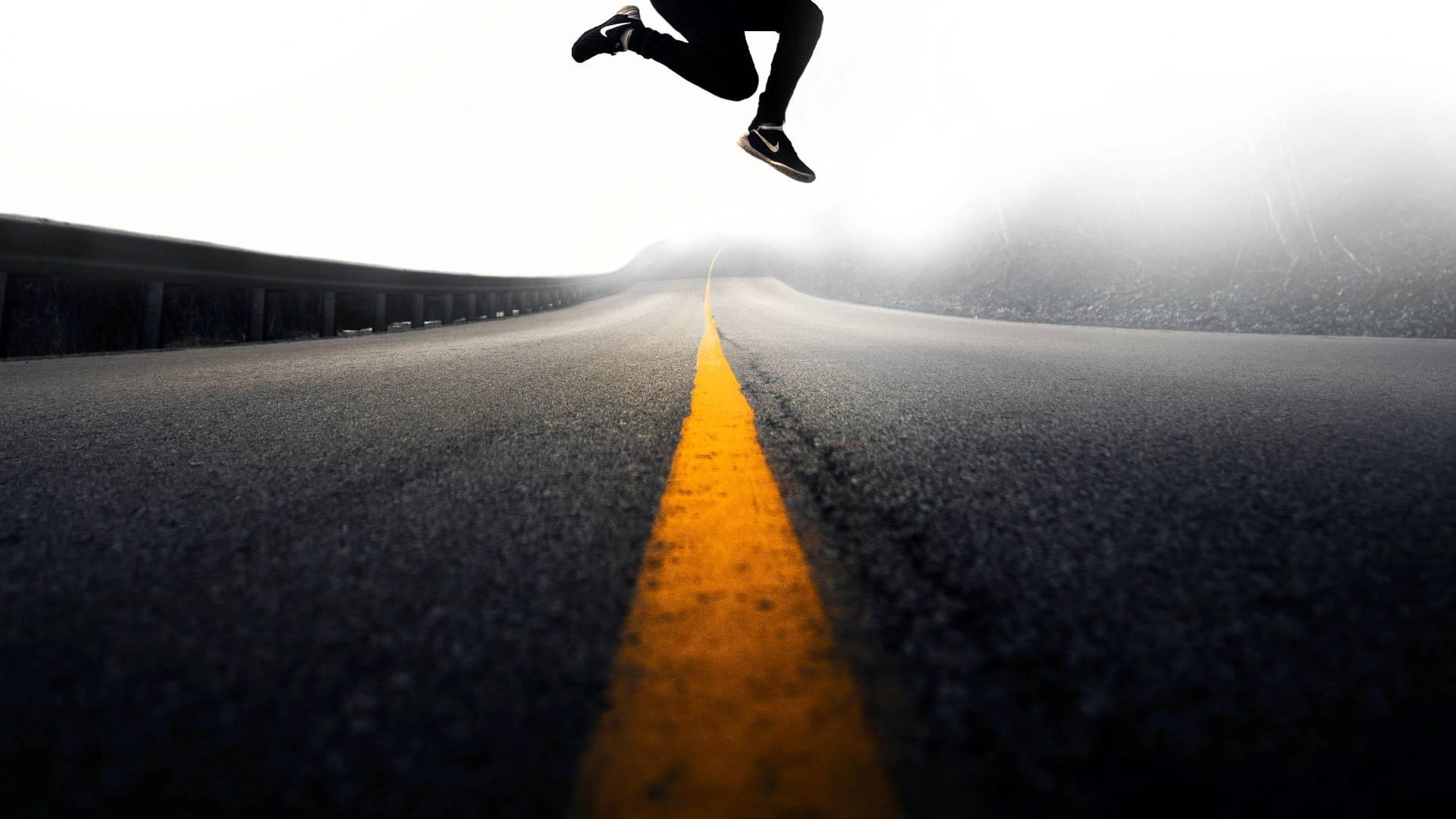 jump springen hüpfen