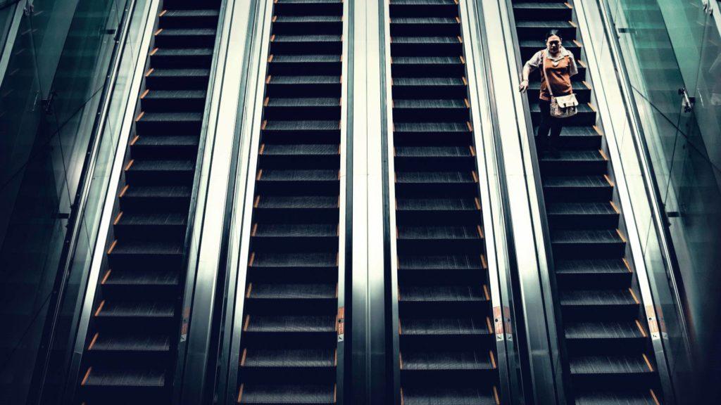 Rolltreppe nehmen – Like A Boss